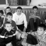 Группа учеников воскресной школы